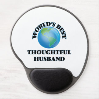 World's Best Thoughtful Husband Gel Mouse Pads