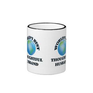 World's Best Thoughtful Husband Coffee Mugs
