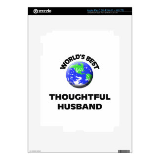 World's Best Thoughtful Husband Skin For iPad 3