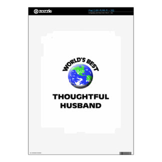 World's Best Thoughtful Husband Decal For The iPad 2
