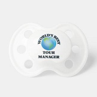 World's Best Tour Manager BooginHead Pacifier