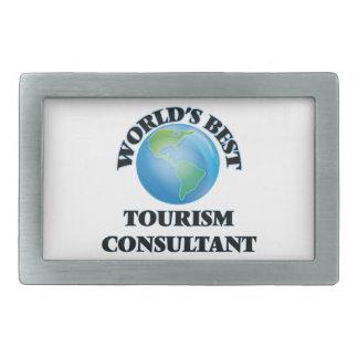 World's Best Tourism Consultant Belt Buckles