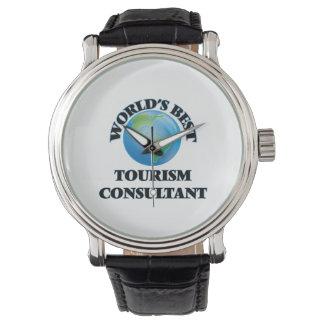 World's Best Tourism Consultant Wrist Watch