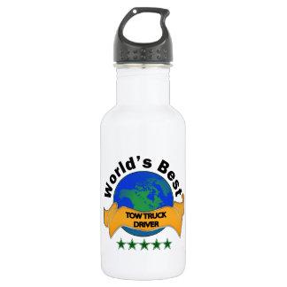 World's Best Tow Truck Driver 18oz Water Bottle