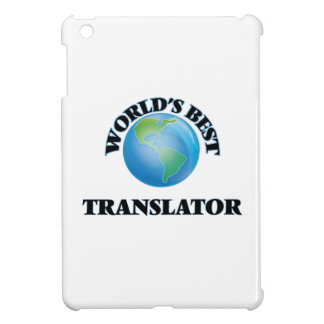 World's Best Translator Cover For The iPad Mini
