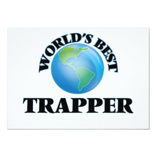 World's Best Trapper Cards