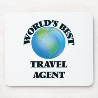 World's Best Travel Agent Mouse Pad