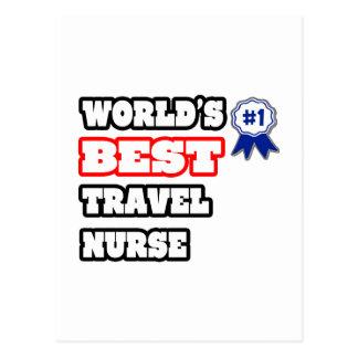 World's Best Travel Nurse Postcard