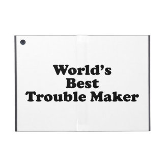 World's Best Trouble Maker Covers For iPad Mini
