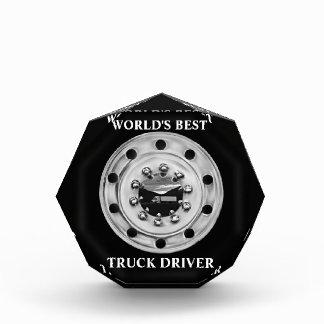 World's Best Truck Driver Acrylic Award
