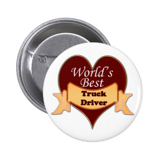 World's Best Truck Driver Button