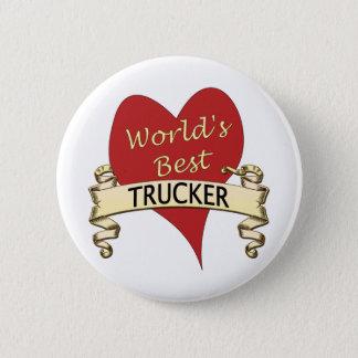 World's Best Trucker Button