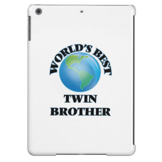 World's Best Twin Brother iPad Air Cover