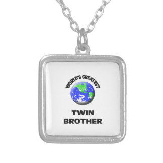 World's Best Twin Brother Jewelry