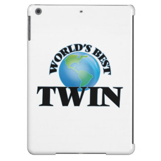 World's Best Twin iPad Air Cover
