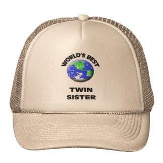 World's Best Twin Sister Trucker Hat
