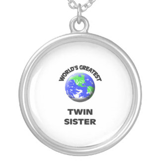 World's Best Twin Sister Necklace