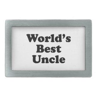 World's Best Uncle Belt Buckle