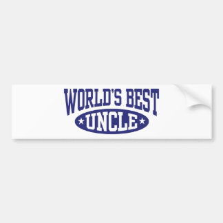 World's Best Uncle Bumper Stickers