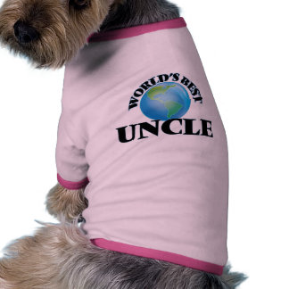 World's Best Uncle Dog Tee Shirt