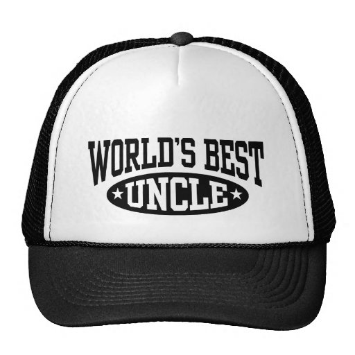 World's Best Uncle Hats