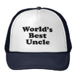 World's Best Uncle Mesh Hats