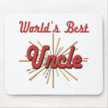 World's Best Uncle Mouse Pads