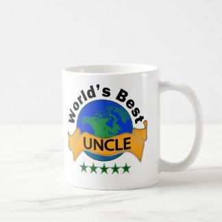 World's Best Uncle Classic White Coffee Mug
