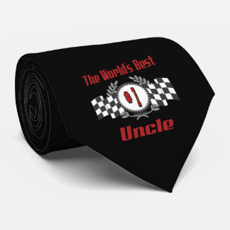 World's Best Uncle Neck Tie
