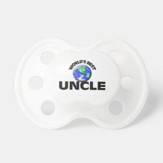 World's Best Uncle Baby Pacifiers