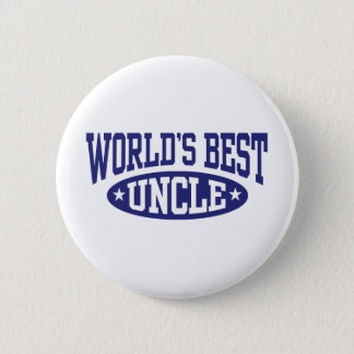 World's Best Uncle Pinback Button