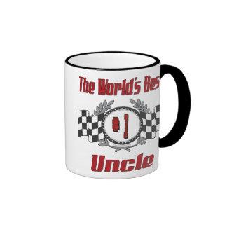 World's Best Uncle Ringer Mug