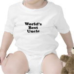 World's Best Uncle Rompers