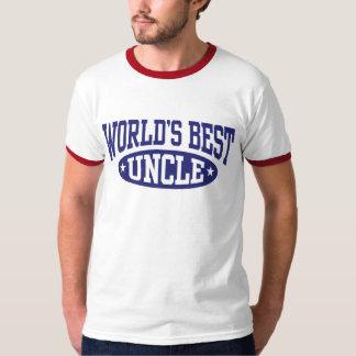 World's Best Uncle T Shirt