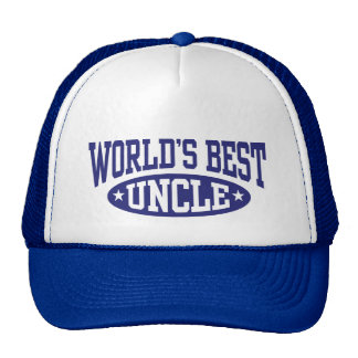 World's Best Uncle Trucker Hat