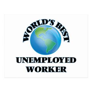 World's Best Unemployed Worker Postcards