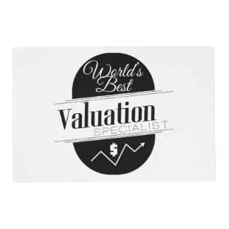 World's Best Valuation Specialist Placemat