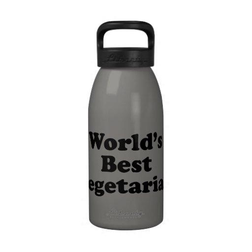 World's Best Vegetarian Water Bottle