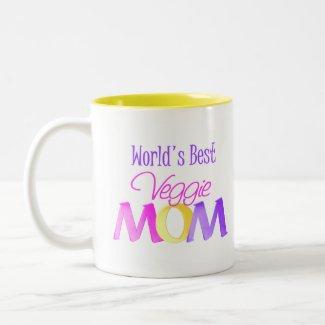 World's Best Veggie Mom Mug/Cup mug