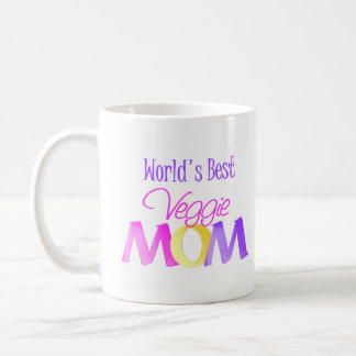 World's Best Veggie Mom Mug/Cup Coffee Mug