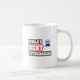 World's Best Veterinarian Classic White Coffee Mug