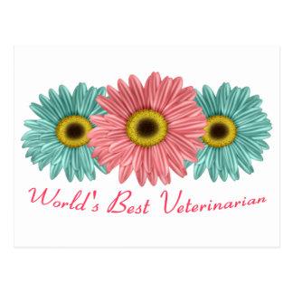World's Best Veterinarian Postcard