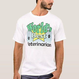 World's best Veterinarian T-Shirt