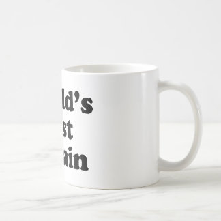 World's Best Villain Coffee Mug