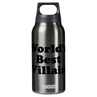 World's Best Villain Insulated Water Bottle