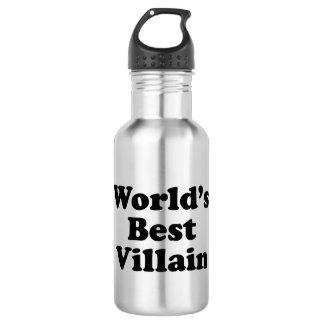World's Best Villain Stainless Steel Water Bottle