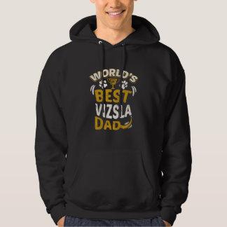 World's Best Vizsla Dad Graphic Hoodie