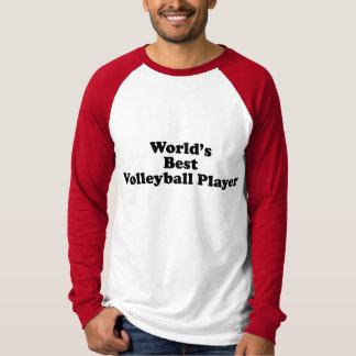 World's Best Volleyball Player Tee Shirt