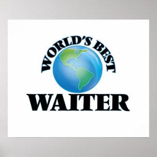 World's Best Waiter Poster
