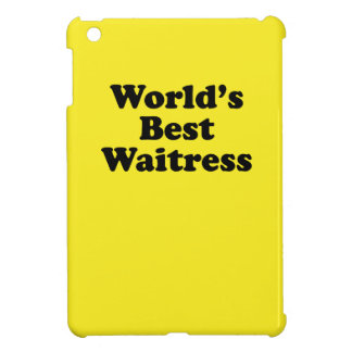 World's Best Waitress Cover For The iPad Mini